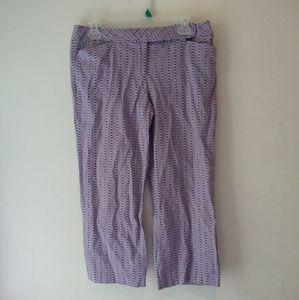 Ann Taylot Loft capri pants size 8